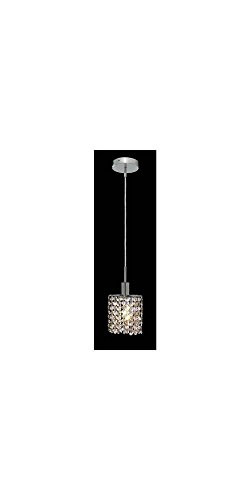 Ss 1 Light Chrome Crystal Pendant in US - 9