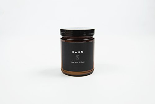 Wax, Wick and Flame Eco-Conscious Candle, 40 Hour Burn Ti...