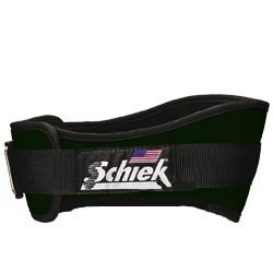 SCHIEK NYLON LIFTING BELT 4 3/4 INCH FOREST GREEN EXTRA SMALL