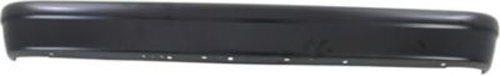 Crash Parts Plus Painted Black Steel Rear Bumper for Ford E-Series, Econoline - FO1102301