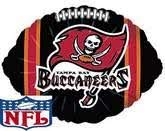 Tampa Bay Buccaneers Balloons - 8 Pack