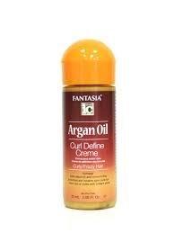 - Fantasia Argan Oil Curl Define Creme 2oz
