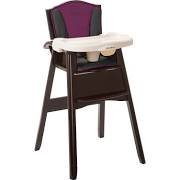 Eddie Bauer Classic 3-in-1 Wood High Chair Orchid