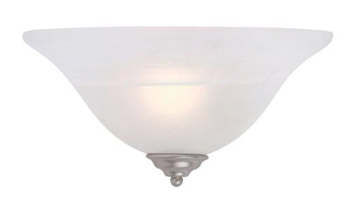 Light Alabaster Glass Sconce - 5