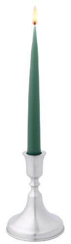 (DANFORTH - Lincoln Candlestick (Single) - Satin Finish - 5 Inches High - Made in USA)