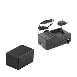 Synergy Digital Camcorder Charger, Works with Canon Vixia HF R800 Camcorder, (li-ion, 3.6V, 2900 mAh) Ultra Hi-Capacity Charger