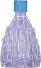 Lourdes Water Bottle containing Lourdes Water that has been BLESSED IN LOURDES