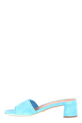 Donna Azzurro Shoe Camoscio Sandali Mcbi063050o Car xXEnT677