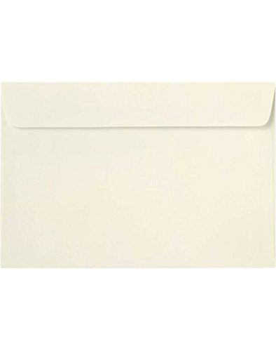 6 x 9 Booklet Envelopes - Natural (50 Qty) | Perfect for Catalogs, Annual Reports, Brochures, Magazines, Invitations | 70lb Paper | 6025-01-50 Envelopes.com