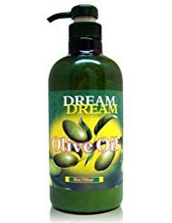 Dream Olive Oil Lotion for Body, Hands and Feet; Creates Smooth, Non-Greasy, Delectable, Calming, Emollient Long Lasting Smell for Dry Skin; Popular Use in Nail Salons & Spas - 750ml