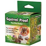 Squirrel Proof Spring Device for Birdfeeders