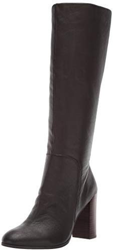 - Kenneth Cole New York Women's Justin Knee High Heeled Boot, Chocolate 6 M US