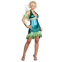 Lil Green Fairy Adult Costume - -