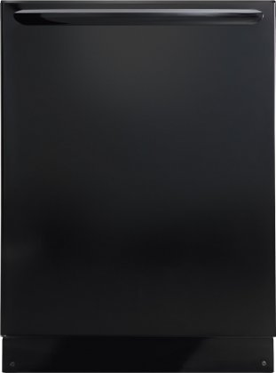 Frigidaire Gallery FGID2466QB 24'' Fully Integrated Built-In Dishwasher with 12 Place Settings 8 Wash Cycles DishSense Technology Quick Wash Tall Tub Design 52 dBA and Energy Star Rating in by Frigidaire