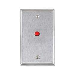 Alarm Controls RP28FLASHING sg stainless steel 12 vdc red flashing le
