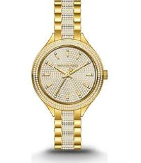 Michael Kors MK3632 - Reloj de Acero Inoxidable con Cristales Dorados