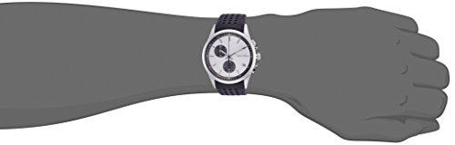 Calvin liten herr kronograf kvartsur med läderarmband K5A371C6