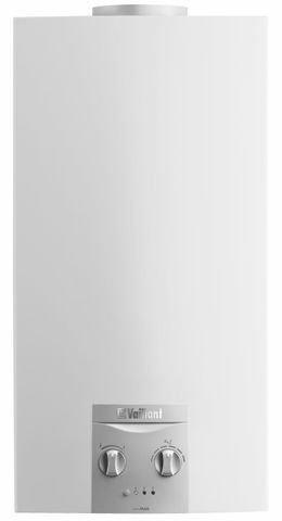 Vaillant atmoMAG 14 – 0 XI S de gas calentador Chimenea Conexión