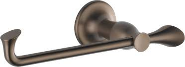 Brizo RSVP Brushed Bronze Toilet Tissue Holder