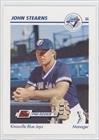 Stearns Line - John Stearns (Baseball Card) 1991 Line Drive Pre-Rookie - AA #374