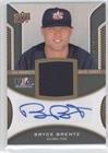 Bryce Brentz #80/399 (Baseball Card) 2009 Upper Deck Signature Stars - USA Prospects Autograph Jerseys (Usa Bb Jersey)