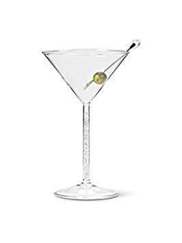 Abbott Collection Gem Stemmed Martini Glass