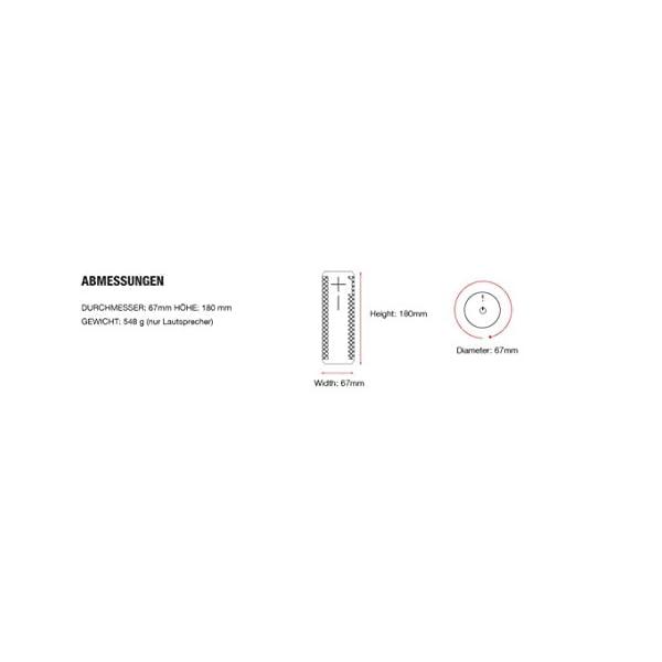 Ultimate Ears BOOM 2 Lite Enceinte sans fil/Enceinte Bluetooth (Imperméable et Antichoc) - Blanc Nuage 6