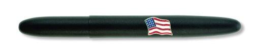 - Fisher Space Pen,Bullet Space Pen with American Flag Emblem, Matte Black (600BAF)