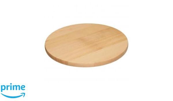 Tabla para servir Tabla Pizza de plato giratorio de 35 cm de madera   Amazon.es  Hogar 39dfe0524ef7