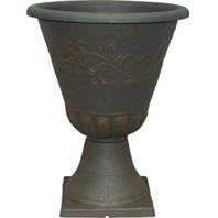 Sonoma Planter (Southern Patio 077044 16 in. Cmx Sherwood Collection Sonoma Urn Rust)