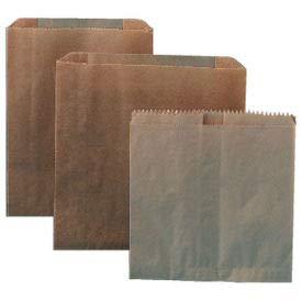 Kraft Waxed Sanitary Napkin Paper Liners For Floor Receptacles 8'' x 7'' x 8'', 500/Case - HOS6802W (HOS 6802W)