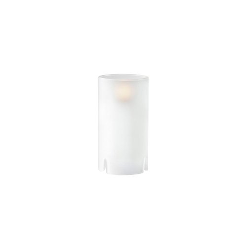 Sterno Products 80122 Nikola Frost Glass Cylinder Lamp Frost Glass Cylinder