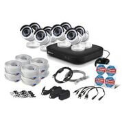 Swann Super HD 5MP DVR Security System, 8 Channel 2TB DVR, White (SWDVK-849808)