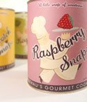 Flathaus Fine Foods 28812 8 oz. boxes - Raspberry Cookies - Pack of 12 by Flathau's Fine Foods