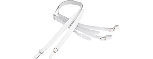 Lowest Prices! Levy's Leathers M18-WHT Guitar Strap