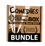 Indieflix Inc Four Short Comedies Film Festival In A Box And 1 Year Streaming Membership To Indieflix