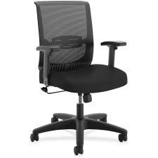 HON The Company HONCMS1AACCF10 Convergence Task Chair, Swivel-Tilt, Black Fabric