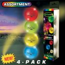 Night Flyer Lighted Golf Balls 4 Pack