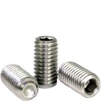 "#3-48x3/16"" STAINLESS 18 8 CUP POINT SOCKET SET SCREW (INCH) 