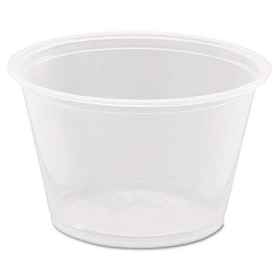 (Dart 400PC 4 oz Clear PP Portion Container (Case of 2500))