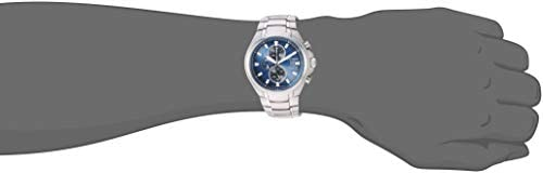 Citizen Men's Eco-Drive Quartz Titanium Strap, Silver, 24 Casual Watch (Model: CA0700-51L) WeeklyReviewer