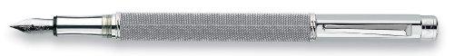 Caran D'ache Varius Ivanhoe, silver plated/rhodium coated Medium Point Fountain Pen - CA-4490014