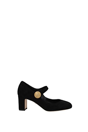 Schwarz Dolce Gabbana Wildleder Damen EU CD0882A1275 amp; Pumps 0rvwx5Fr