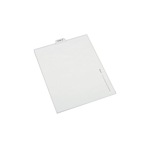 Discount Avery Individual Legal Dividers, Letter Size, Exhibit M (12386)