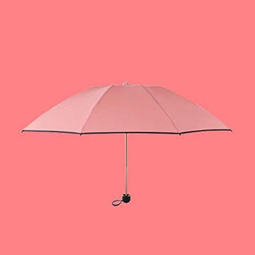 GYFY Non-Stick Umbrella, Sunshade, Nano-Hydrophobic Exquisite Umbrella, not Wet, Umbrella, UV Protection,Red
