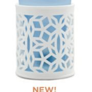 Scentsy Darling Warmer with Blue Insert