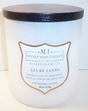 Manly Indulgence Azure Sands Scented Candle ()