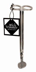 Stainless Steel Wick Trimmer w/Wick Catcher