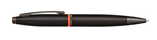 Cross Calais Liberty United Matte Black Lacquer Ballpoint Pen with Glossy Black PVD Appointments by Cross (Image #4)