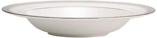 Noritake Odessa 12-Ounce Soup Bowl, 8-1/2-Inch, Platinum -  037725397573